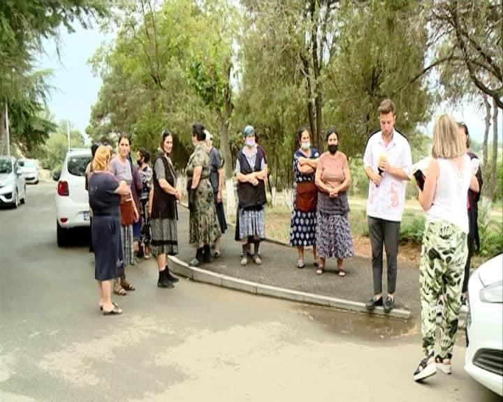 Торговцы в Гардабани провели акцию протеста