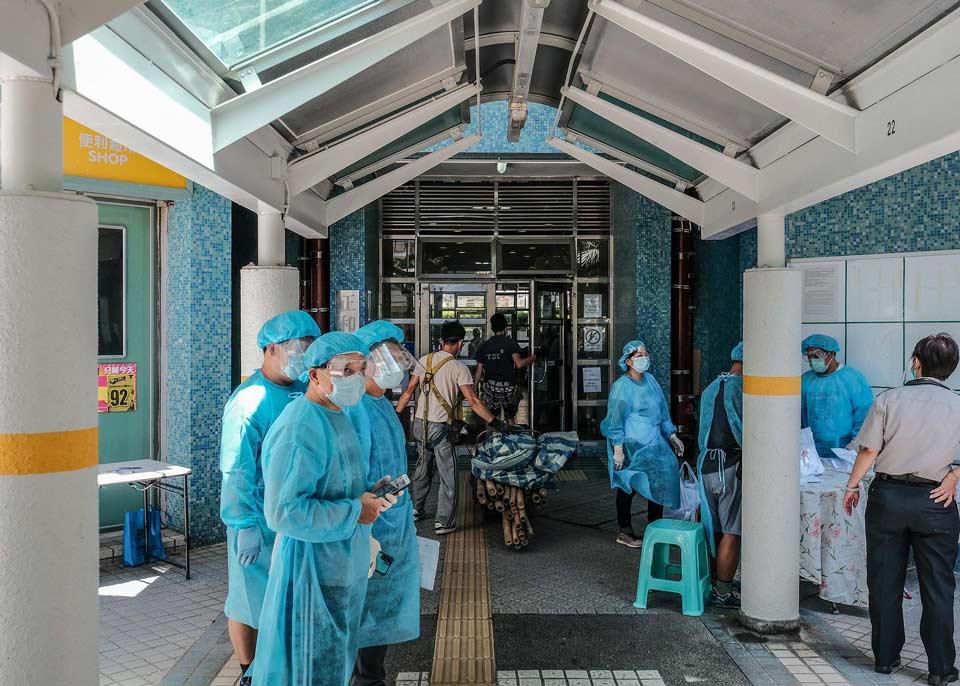 Honq Konqda son 24 saatda koronavirusun 149 halı aşkar edildi