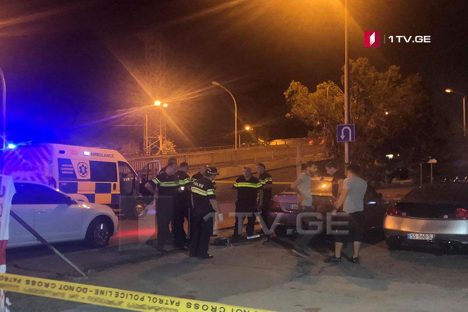 თბილისში, გმირთა მოედანზე ავარიის შედეგად ერთი ადამიანი დაიღუპა