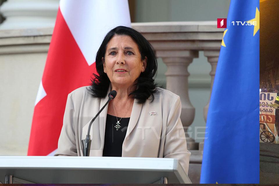 Salome Zurabişvili Giorgi Ruruayı əvf etməyəcək [Video]