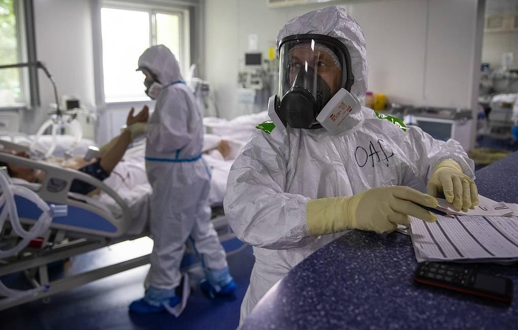 Russia records 5,462 new daily coronavirus cases