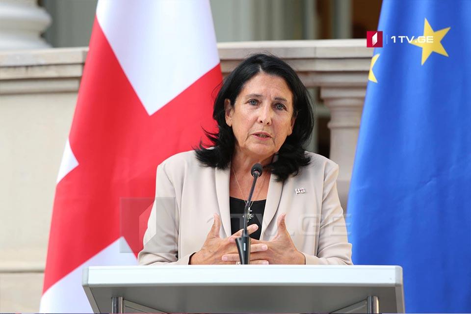 Саломе Зурабишвили поблагодарила страны-партнеры за поддержку Грузии в ООН