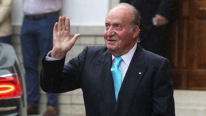 ესპანეთის ყოფილი მეფე ქვეყანას ტოვებს