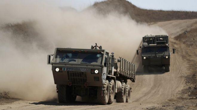 """""""ბიბისი"""" - ისრაელმა სირიის სამხედრო ბაზებზე იერიში მიიტანა"""