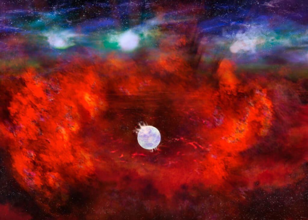 """1987 წელს აფეთქებული სუპერნოვას ადგილზე """"დაკარგული"""" ნეიტრონული ვარსკვლავი აღმოაჩინეს — #1tvმეცნიერება"""