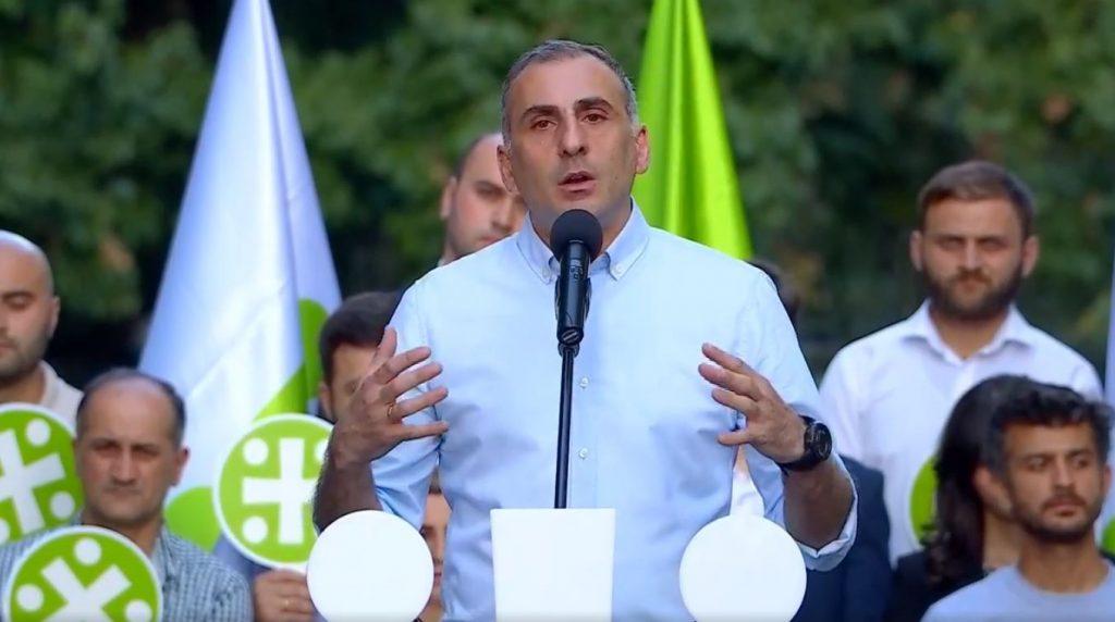 Aleko Elisashvili to run as Majoritarian MP candidate in Saburtalo district