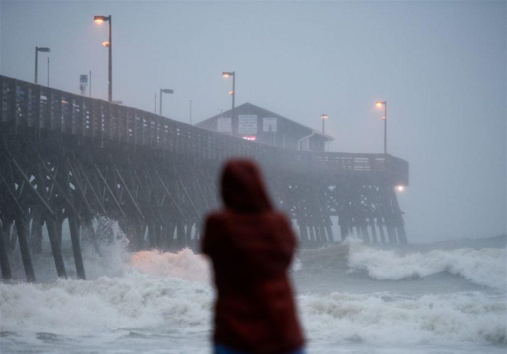 """აშშ-ში ქარიშხალ """"აისაიასის"""" შედეგად წარმოქმნილმა ტორნადომ ერთი ადამიანის სიცოცხლე იმსხვერპლა"""