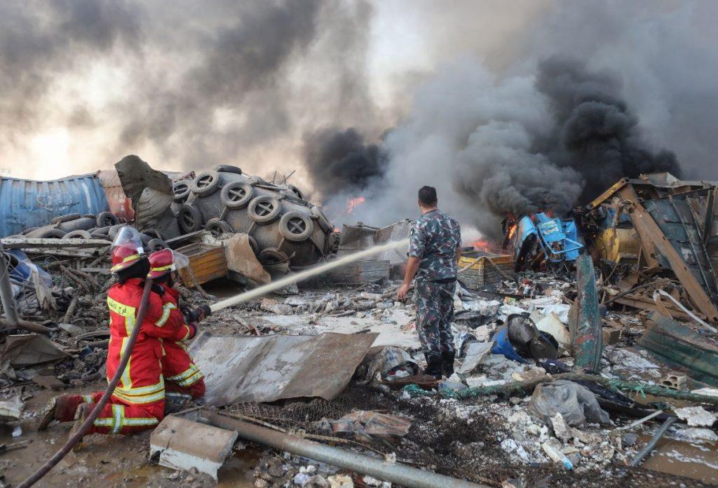"""ბეირუთში აფეთქებას ლიბანური პარტია """"კატაიბის"""" გენერალური მდივანი ემსხვერპლა"""
