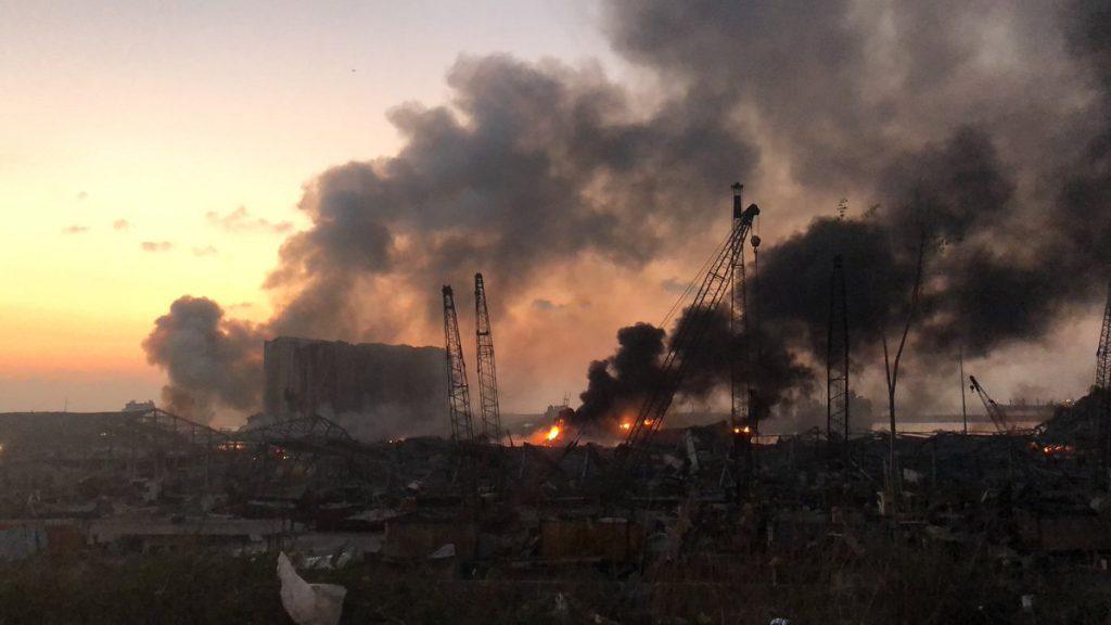 ბოლო მონაცემებით, ბეირუთში აფეთქებისას გარდაიცვალა სულ მცირე 50 და დაშავდა 3 000-მდე ადამიანი
