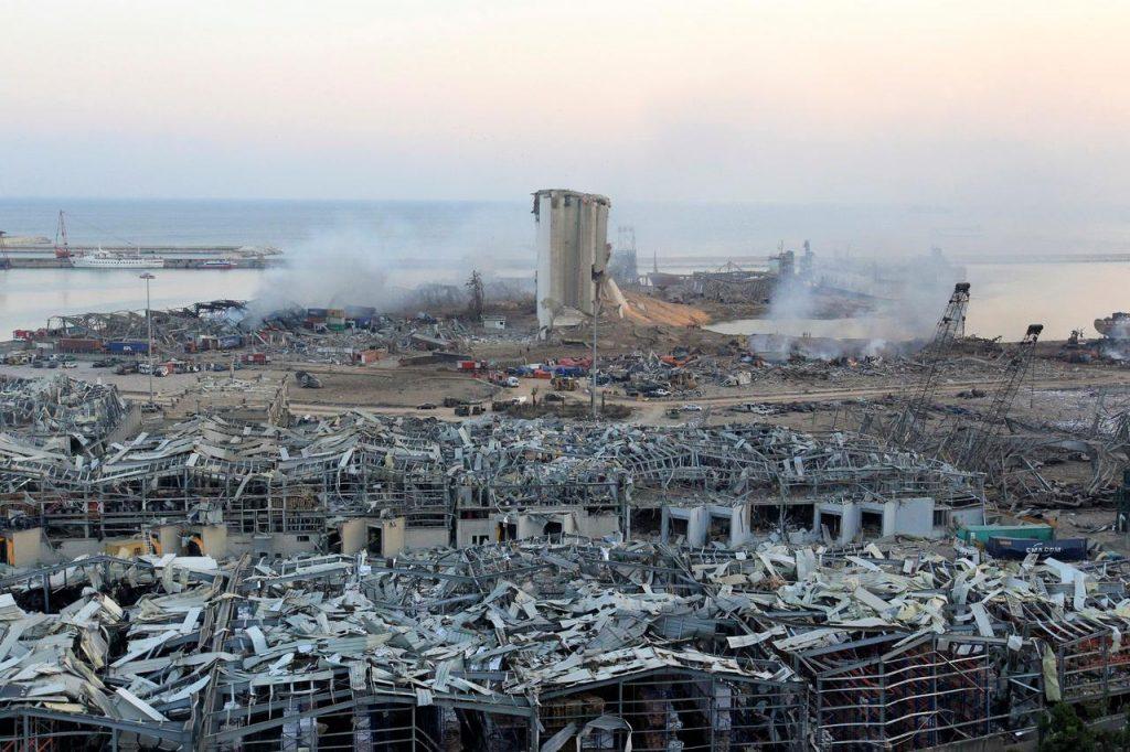 По сообщениям СМИ, взрыв в порту Бейрута произошел из-за халатности