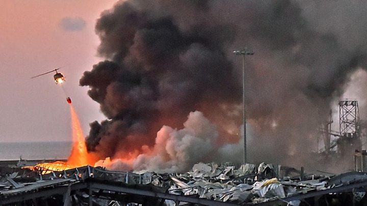 По оценке ученых, взрыв в Бейруте был эквивалентен 10% мощности атомной бомбы, сброшенной на Хиросиму