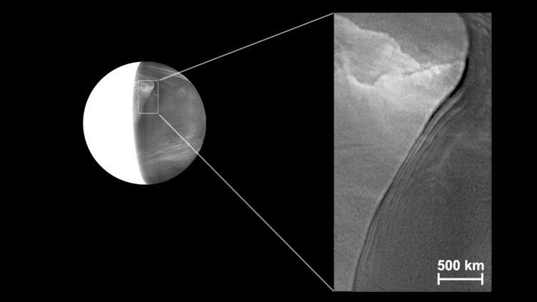 ვენერას ტოქსიკურ ატმოსფეროში ღრუბლების გიგანტური ტალღა აღმოაჩინეს — #1tvმეცნიერება