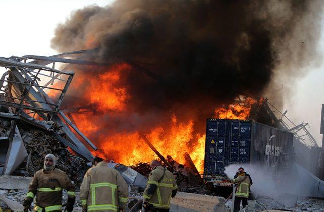 ბეირუთში აფეთქების შედეგად გარდაცვლილთა რაოდენობა 154-მდე გაიზარდა