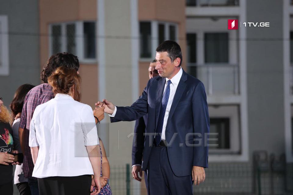 """251 семья беженцев получила квартиры в комплексе """"Дирси"""" в Тбилиси"""