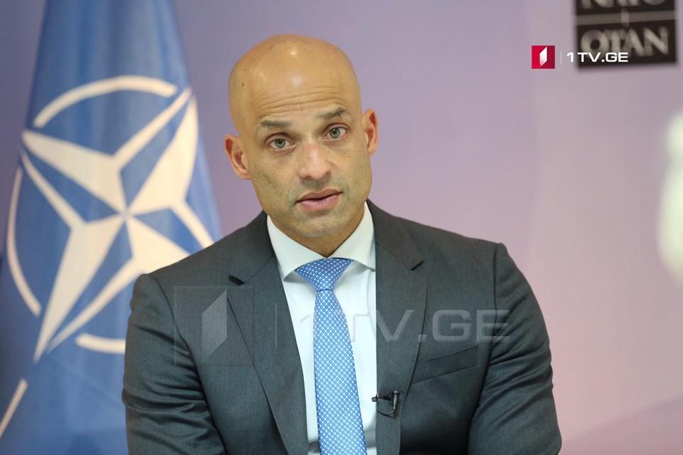 Джеймс Аппатурай - НАТО призывает Россию вывести свои войска с территории Грузии