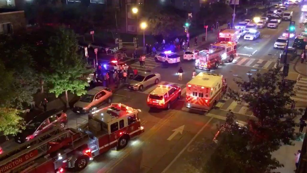 Vaşinqtonda atəş nəticəsində bir insan öldürüldü və doqquzu xəsarət aldı