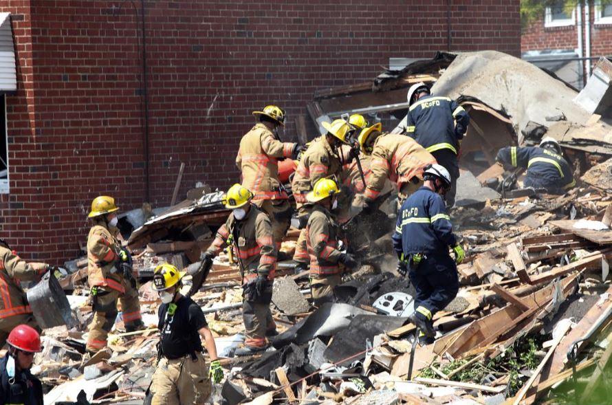 ბალტიმორში ბუნებრივი აირის აფეთქების შედეგად სამი სახლი დაინგრა, დაიღუპა ერთი ადამიანი