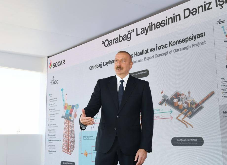 Ильхам Алиев - Через несколько месяцев начнется поставка азербайджанского газа в Европу через Грузию