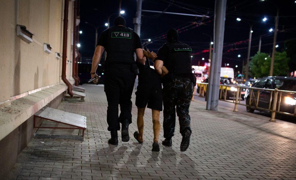 ბელარუსში გამართულ საპროტესტო აქციებზე პოლიციამ 8 სექტემბერს 121 ადამიანი დააკავა