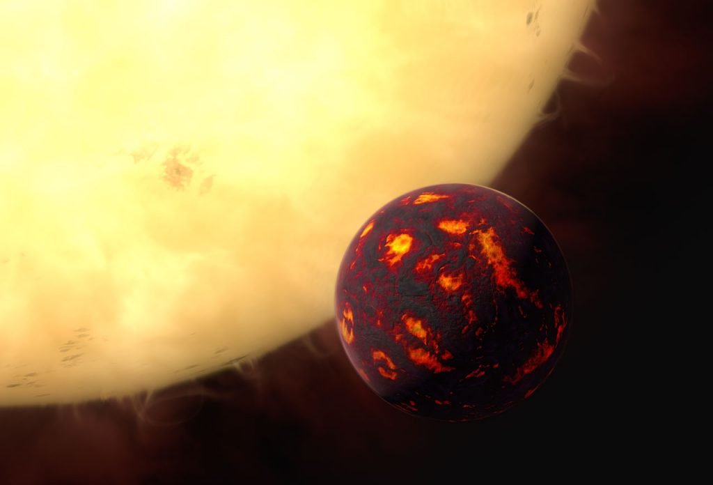 ზოგიერთი ექსტრემალური ეგზოპლანეტა ლავის ოკეანეებით არის დაფარული, მაგრამ რაღაც იდუმალი მათ ძალიან აკაშკაშებს — #1tvმეცნიერება