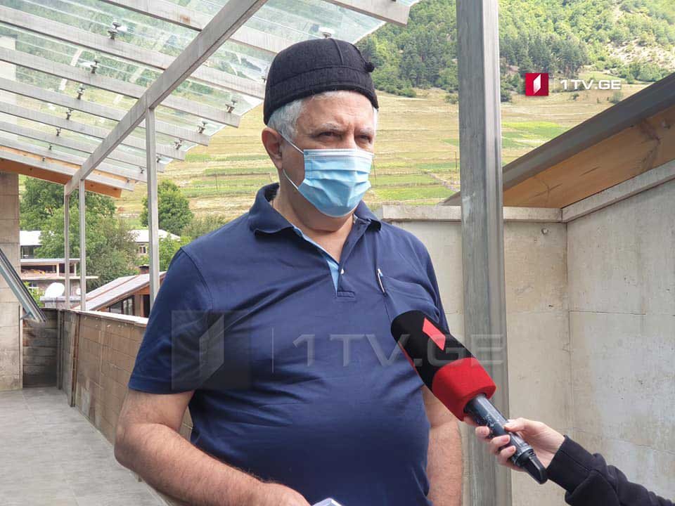 Amiran Gamkrelidze: Testing is carried out in an organized manner in Mestia municipality