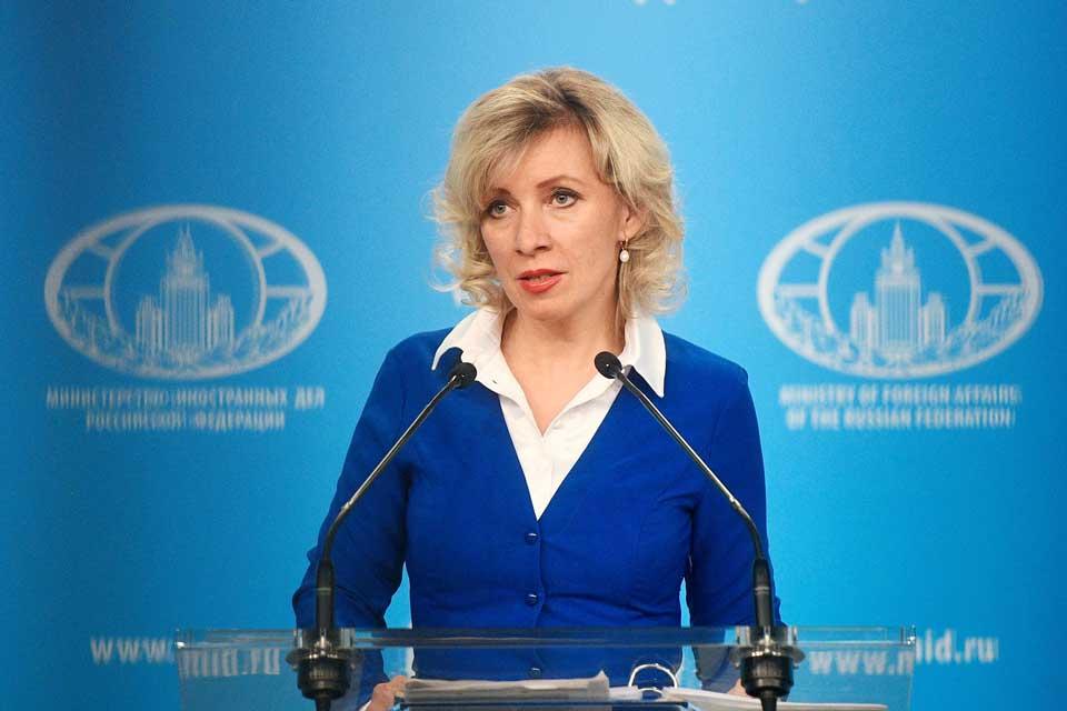 მარია ზახაროვა - რუსეთი ბელარუსის საქმეებში გარე ძალების ჩარევის აშკარა მცდელობებს ხედავს