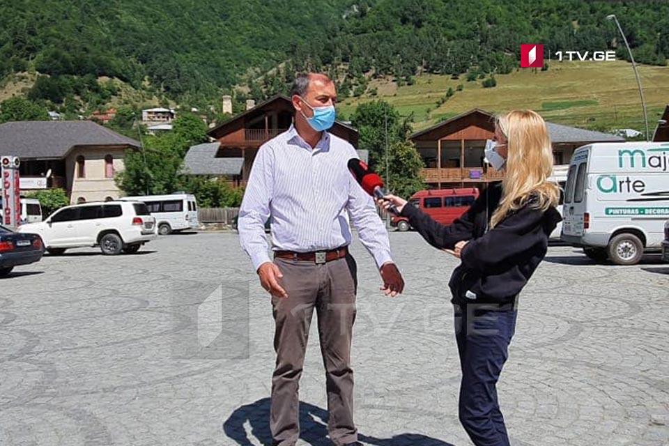 კაპიტონ ჟორჟოლიანი - მესტიის მუნიციპალიტეტში ჩამოსულია ეპიდემიოლოგების ექვსი ჯგუფი, რომლებიც ღრმა ეპიდკვლევას დაიწყებენ