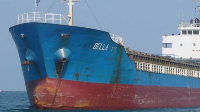 აშშ-ში აცხადებენ, რომ ვენესუელისთვის განკუთვნილი ირანული ნავთობით დატვირთული გემი დააკავეს