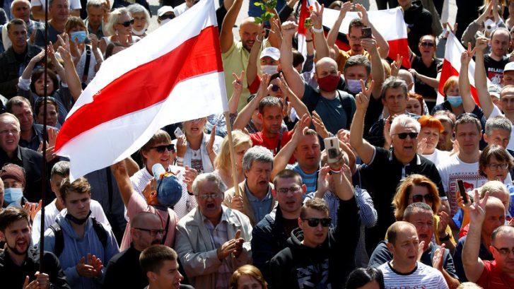 Белорусы  сæйраг горæты  абонмæ  пълангонд у  дыууæ  демонстраци ауадзын