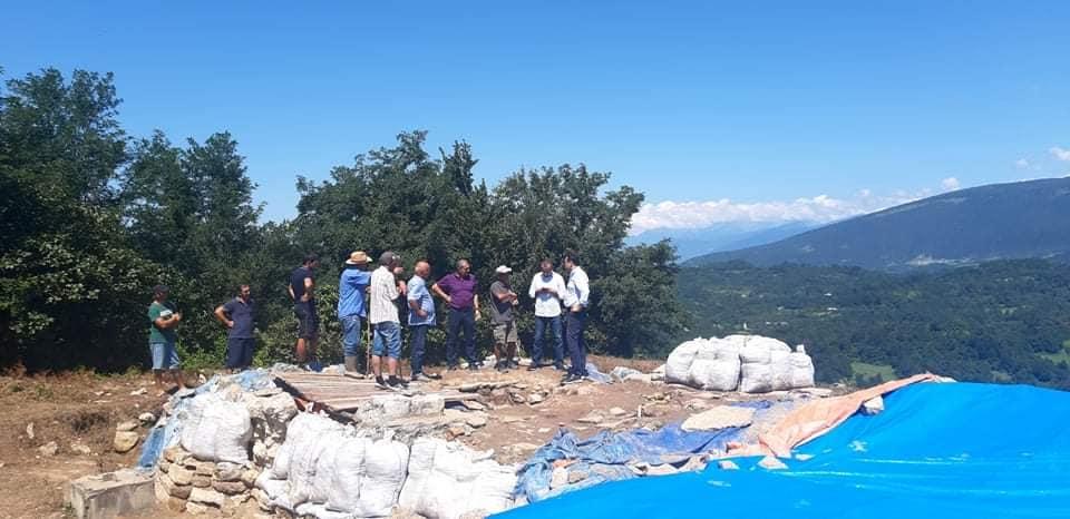 მარტვილის მუნიციპალიტეტის სოფელ ხუნწში არქეოლოგიური სამუშაოები მიმდინარეობს