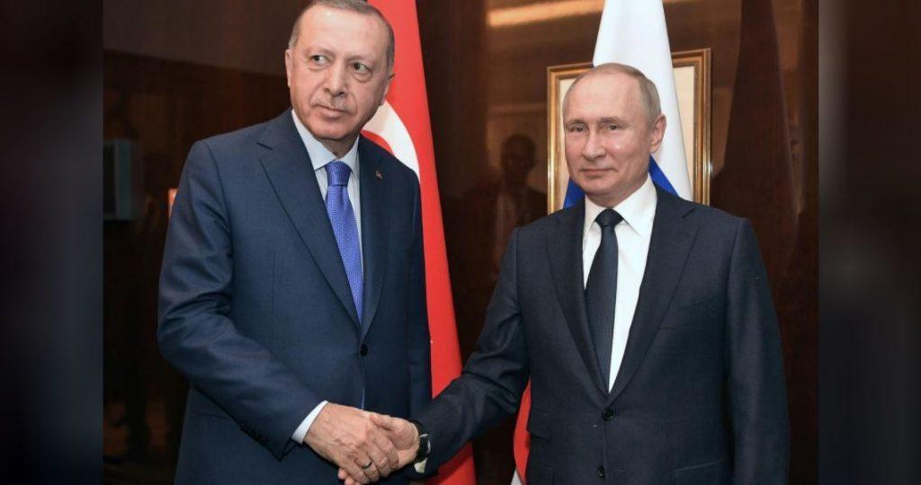Vladimir Putin və Rəcəb Tayyib Ərdoğan telefon söhbəti zamanı Liviya və Suriya məsələlərini müzakirə etdilər