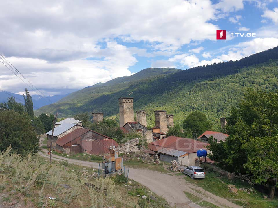 Besides Mestia, Lengeri, all administrative units in Zemo Svaneti may open from August 21