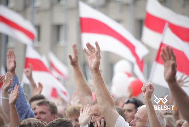 Александр Лукашенко - В Гродно уже подняты польские флаги, подобные факты будут пресечены радикальными мерами