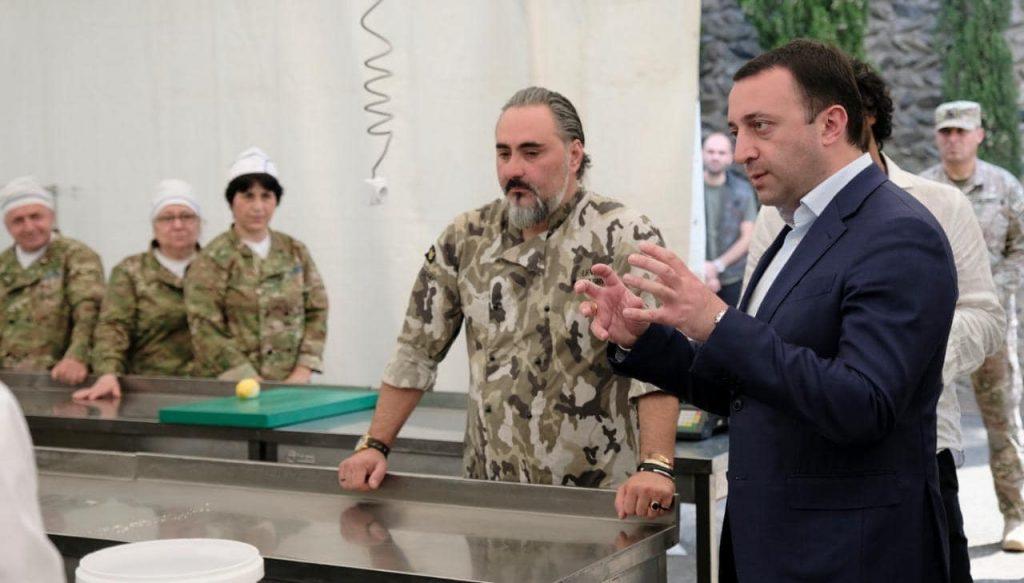 Проект, нацеленный на разнообразие рациона питания грузинской армии и обучение поваров, успешно завершился