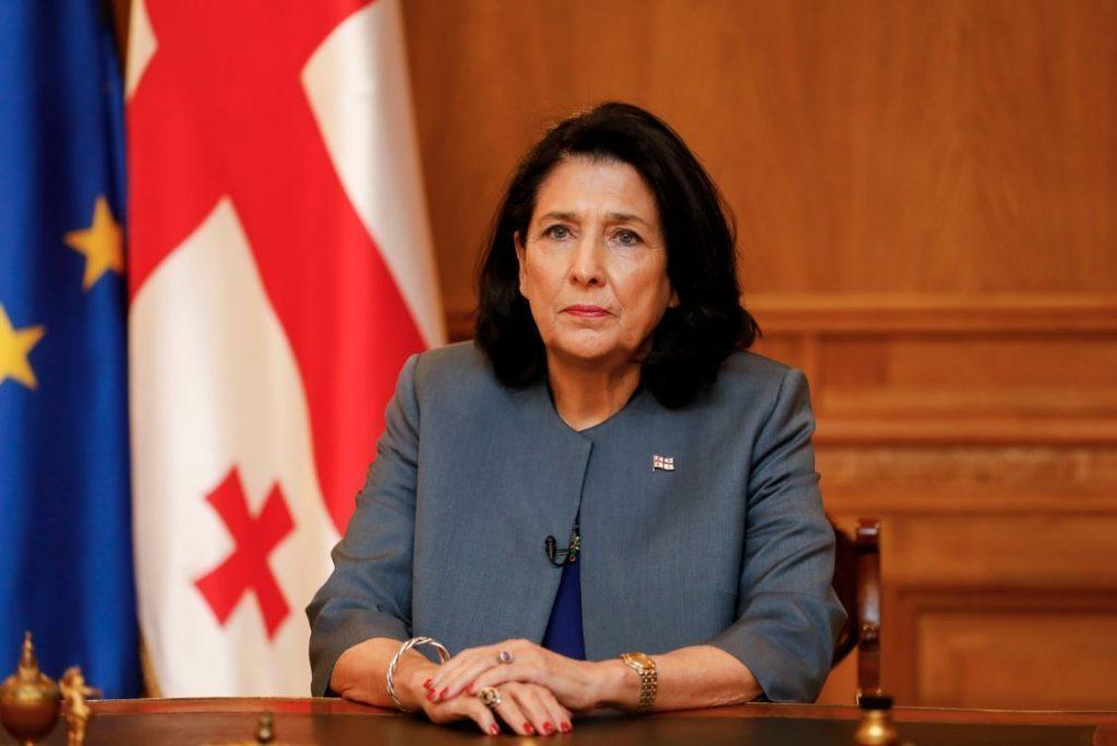 Саломе Зурабишвили выражает сожаление по поводу автокатастрофы около Гори