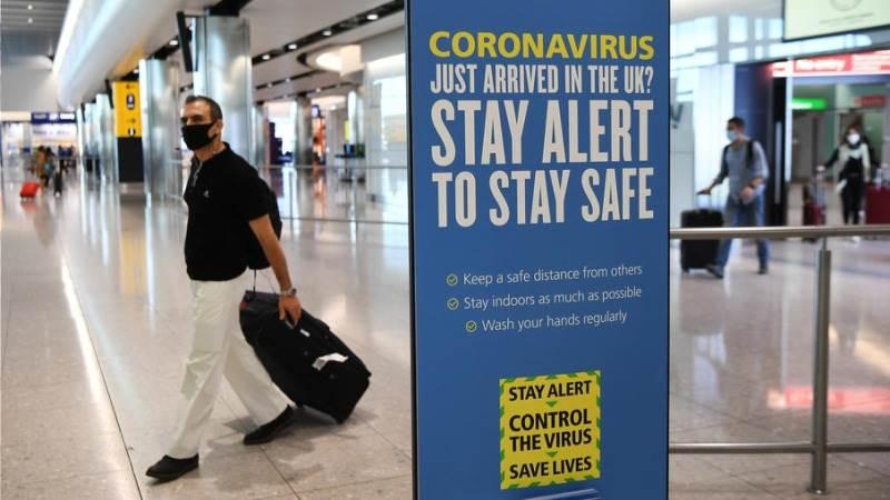 ბრიტანეთში ხორვატიიდან, ავსტრიიდან და ტრინიდადი და ტობაგოდან მიმავალ ტურისტებს კარანტინის გავლა მოუწევთ
