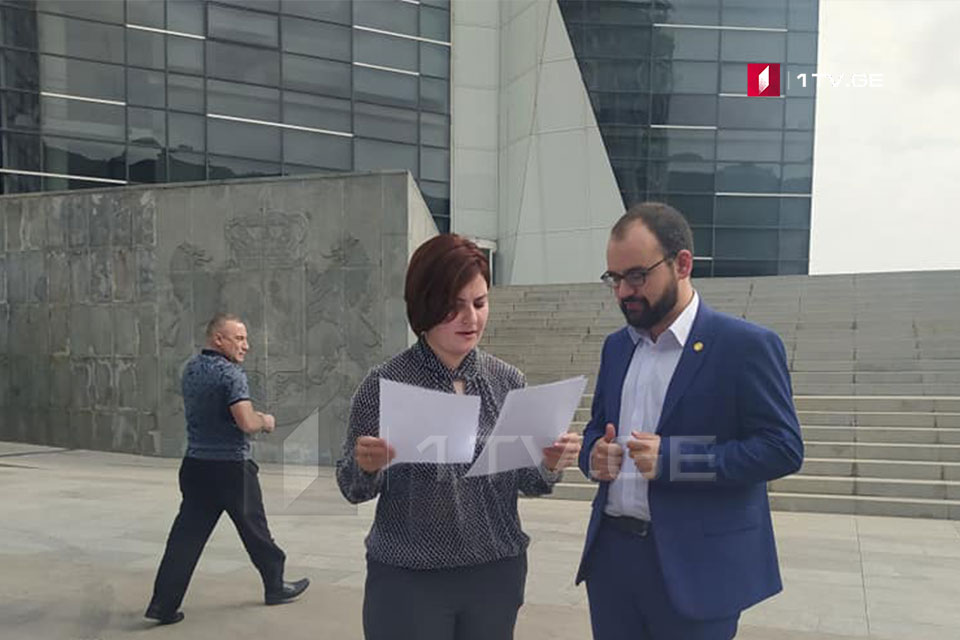 """""""ლელო საქართველოსთვის"""" წარმომადგენლებმა ჰააგის სასამართლოში აგვისტოს ომზე მიმდინარე გამოძიებასთან დაკავშირებით იუსტიციის მინისტრს კითხვებით მიმართეს"""