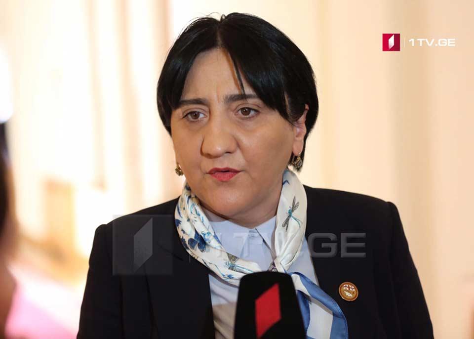 Ирма Инашвили - Говорю всем предателям, вы не сможете помешать примирению абхазов и грузин