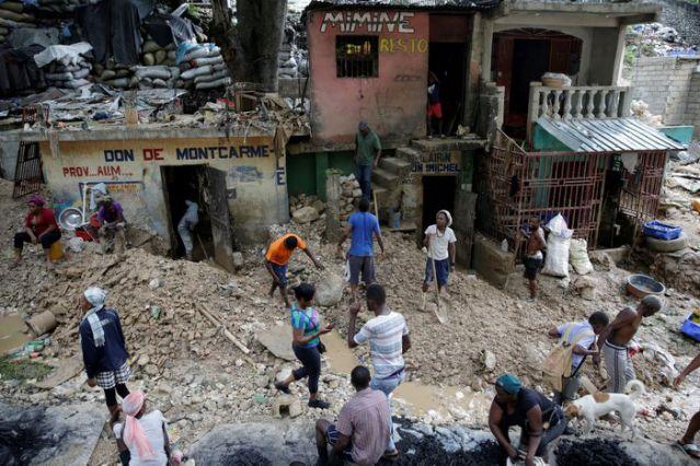 """ჰაიტიზე ტროპიკულ შტორმ """"ლაურას"""" სულ მცირე 21 ადამიანი ემსხვერპლა"""