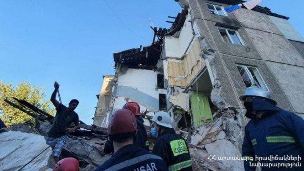Ermənistanda yaşayış evində partlayış baş verdi