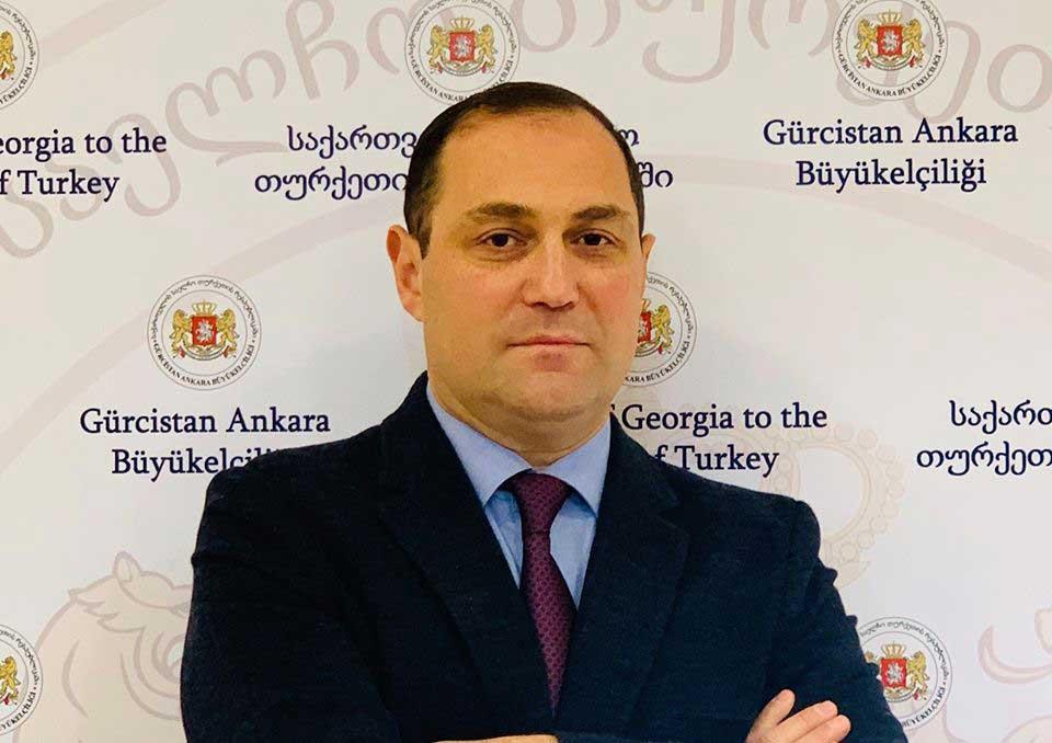 გიორგი ჯანჯღავა - დავით ზალკალიანის თურქეთში ვიზიტისას განიხილება როგორც ორმხრივი ურთიერთობები, ასევე რეგიონში მიმდინარე პროცესები