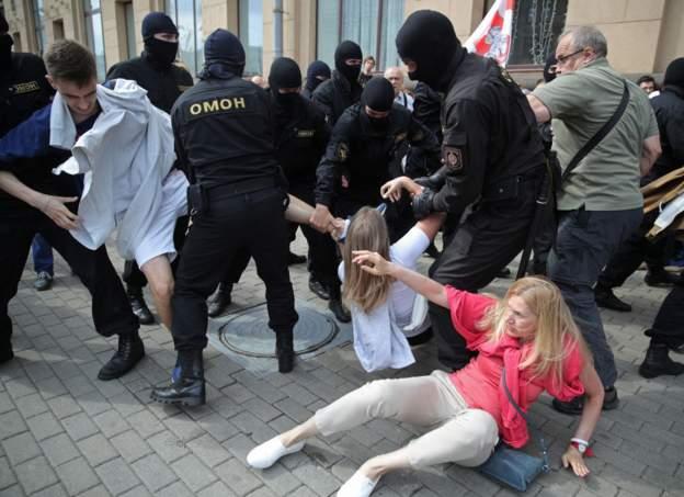Белорусы МХМ-ы  информацийæ, Минскы акцийы  125 хайадисæгы æрцахстой