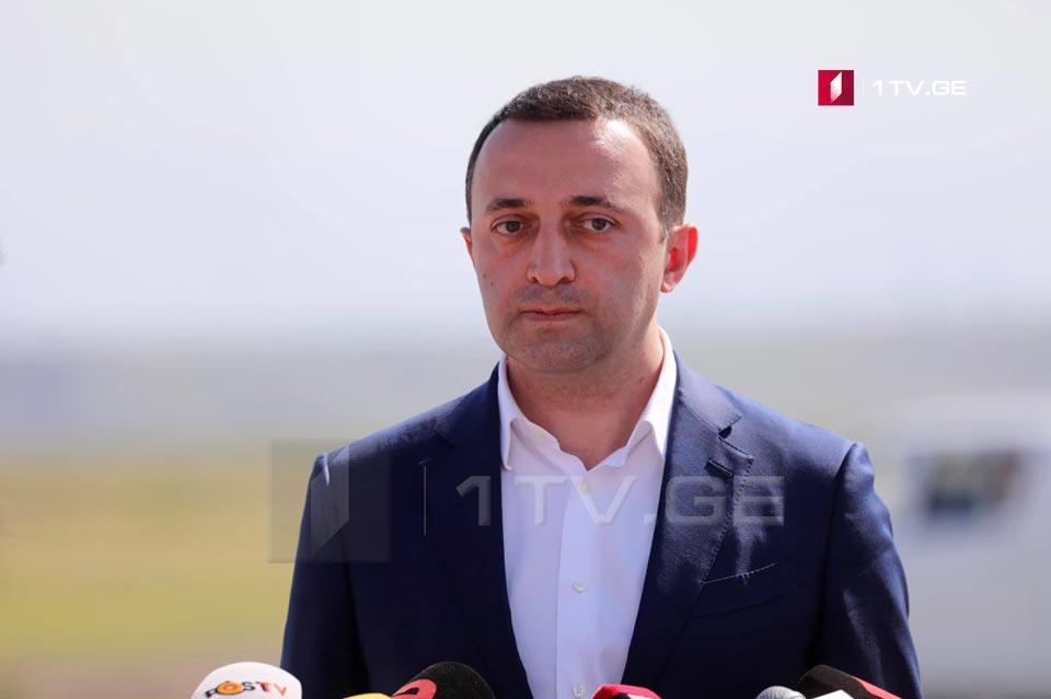 Irakli Gharibashvili on Saakashvili – Crazy Mikheil Saakashvili is so stupid that he thinks he will deceive the Georgian people again