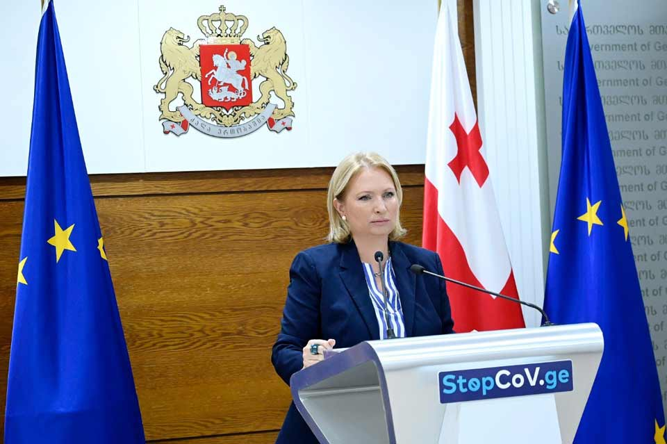 Minister of Economy – Georgia's economy is gradually returning to its positive development