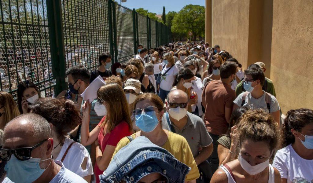 ესპანეთის ჯანდაცვის მინისტრი აცხადებს, რომ ეპიდსიტუაციის გათვალისწინებით, ქვეყანაში მკაცრი კარანტინის გამოცხადების აუცილებლობა არ დგას