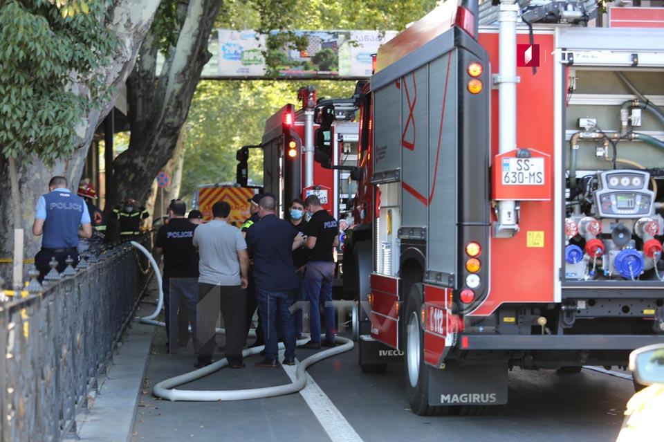 В Минздраве подтверждают, что в результате взрыва возле Филармонии погиб один человек