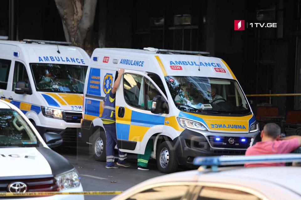 ფილარმონიასთან აფეთქებისას დაშავებული ერთ-ერთი პაციენტი რესპუბლიკური საავადმყოფოდან გაეწერა