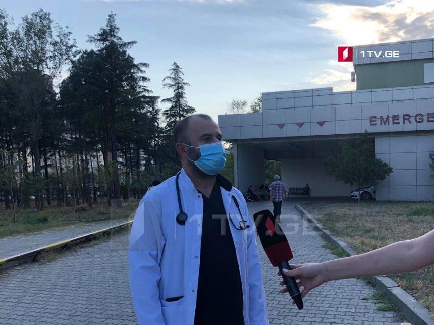 რესპუბლიკური საავადმყოფოს ექიმი - აფეთქებისას დაშავებულს აღენიშნება ჭრილობები და სისხლდენა თხემის არეში