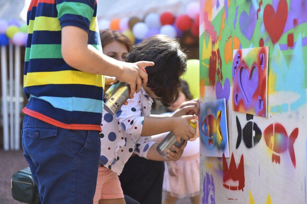 Մայրաքաղաքի քաղաքապետարանի աջակցությամբ, Թբիլիսիում տեղի է ունեցել մանկական փառատոն