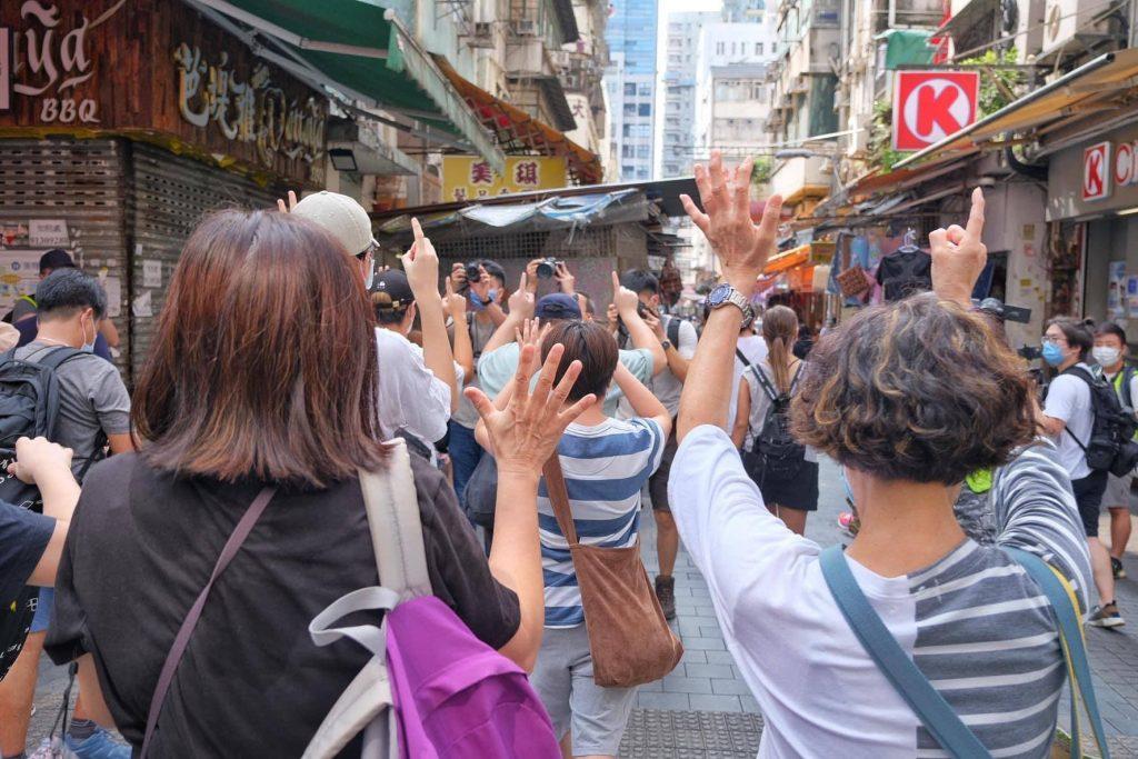 ჰონგ კონგში არჩევნების ერთი წლით გადადების გასაპროტესტებლად ქუჩებში ათასობით ადამიანი გამოვიდა